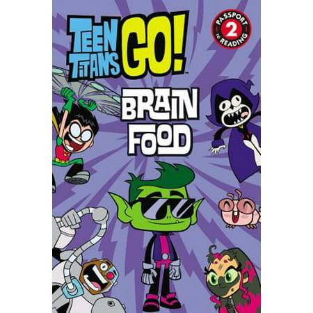 Teen Titans Go! (TM): Brain - Brain Halloween Food