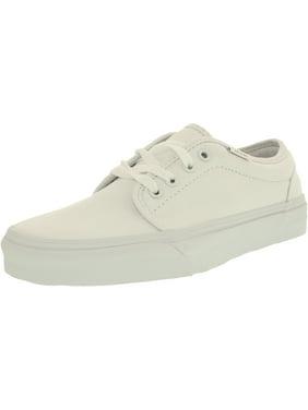 1f5e02681402 Product Image Vans Men s 106 Vulcanized True White Ankle-High Cotton Flat  Shoe - 13M