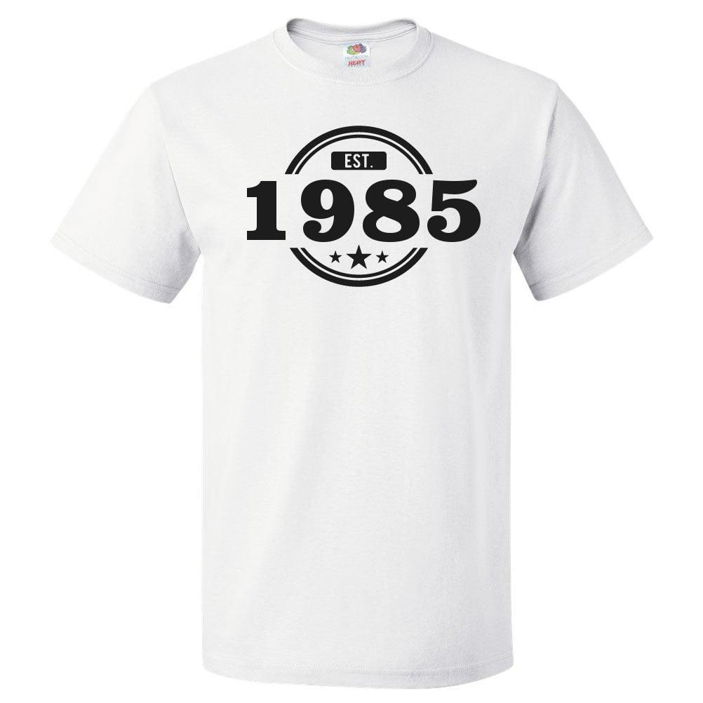 36 years old 1985 Birthday Shirt Retro 36th Years Old Birthday T-shirt Short-Sleeve Soft Style Premium Tee Vintage 1985 Birthday T shirt