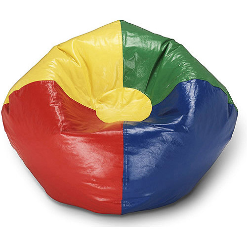 Ace Bayou Multi Primary Matte Vinyl Bean Bag, 98""