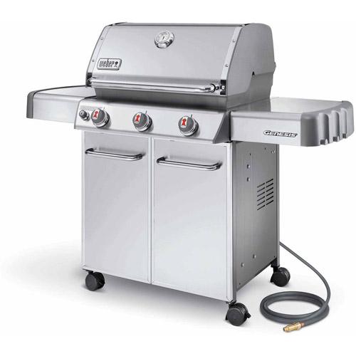 Weber Genesis S 310 >> Weber Genesis S-310 Natural Gas Grill, Stainless Steel - Walmart.com