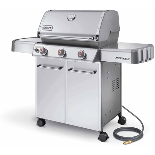 Weber Genesis S-310 Natural Gas Grill, Stainless Steel