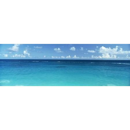 Bermuda Atlantic Ocean (View Of The Atlantic Ocean Bermuda Canvas Art - Panoramic Images (18 x 6))