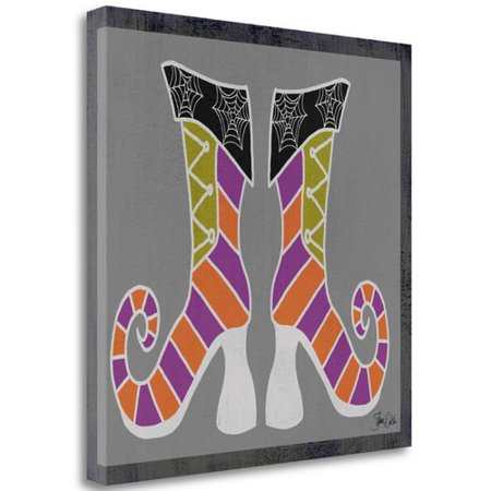 Tangletown Fine Art 'Good Witch Boots I' Graphic Art Print on Canvas