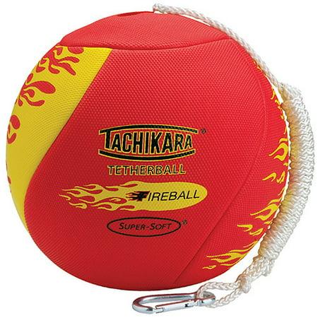 Tachikara Fireball Textured Tetherball, Scarlet