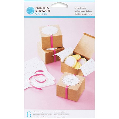 Martha Stewart Crafts Vintage Girl Treat Favor Boxes