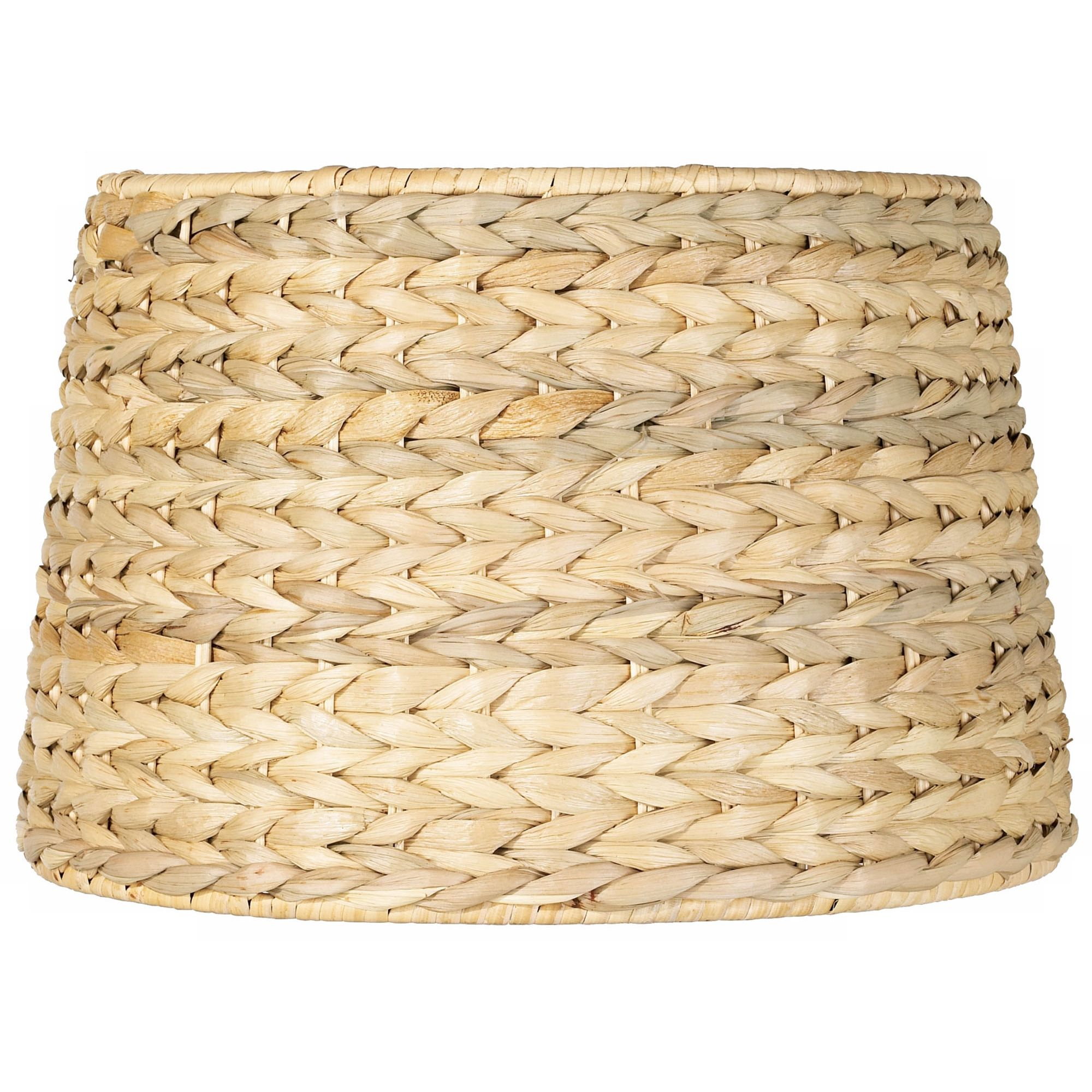 Brentwood Woven Seagrass Drum Shade 10x12x8.25 (Spider)