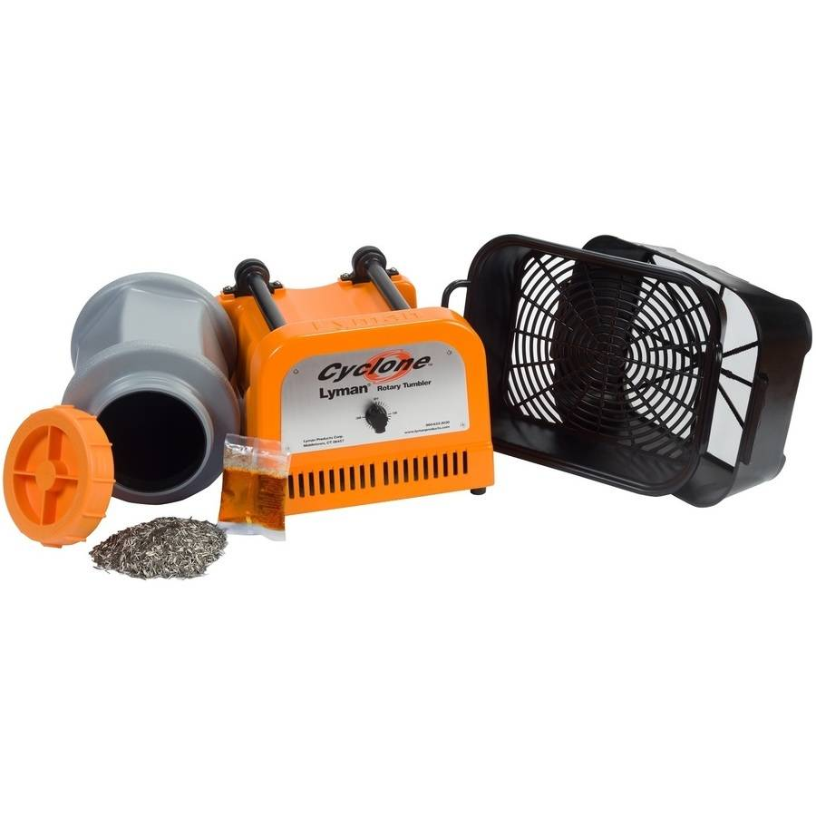 Click here to buy Lyman Cyclone Rotary Tumbler Case Cleaner by Lyman.