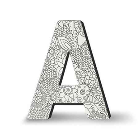Decorative Letter A.Dci Alphabet Letter Block Letter A Wall Letters Adult