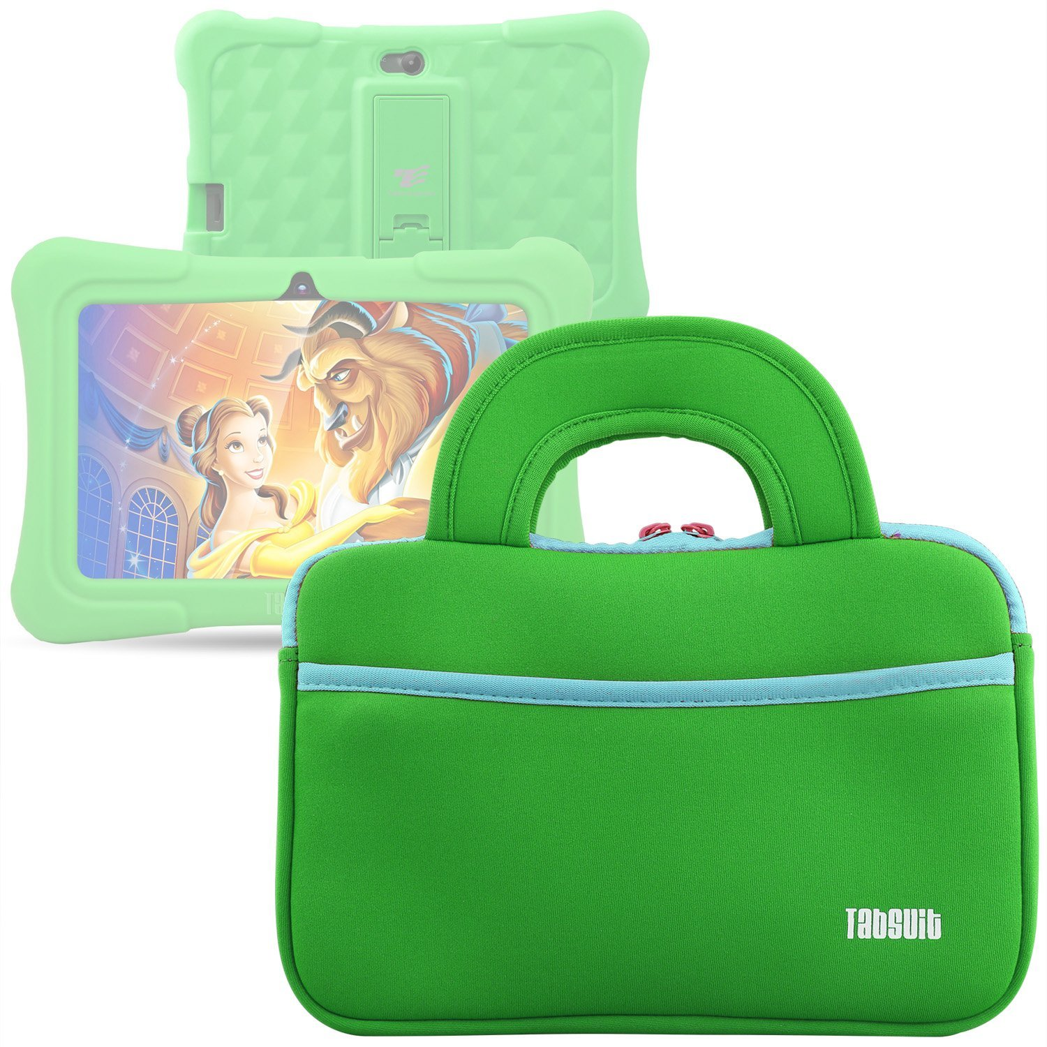 Dragon Touch 7 - 8 inch Tablet Sleeve, 7 ~ 8 inch Tablet Ultra-Portable Neoprene Zipper Carrying Sleeve Case Bag with Accessory Pocket