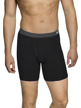 Fruit of the Loom Men's and Big Men's CoolZone Fly Boxer Briefs