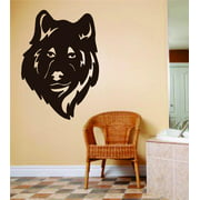 Living Room Art Wolf Wolve Face Head Animal Hunting Hunter Man Gun Boys Kids 10 X 10 Inches