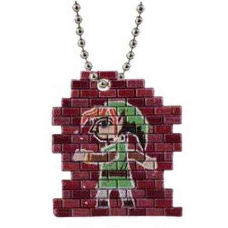 Bandai The Legend of Zelda: A Link Between Worlds Swing Mascot Key Chain Figure ~1.5 - Link Mural, OFFICIAL LICENSED MERCHANDISE! By Ship from US