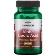 Swanson Alpha Lipoic Acid Capsules, 300 mg, 120 Count