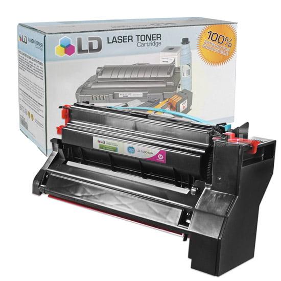LD Compatible High Yield Magenta Laser Toner Cartridge for Lexmark 10B042M