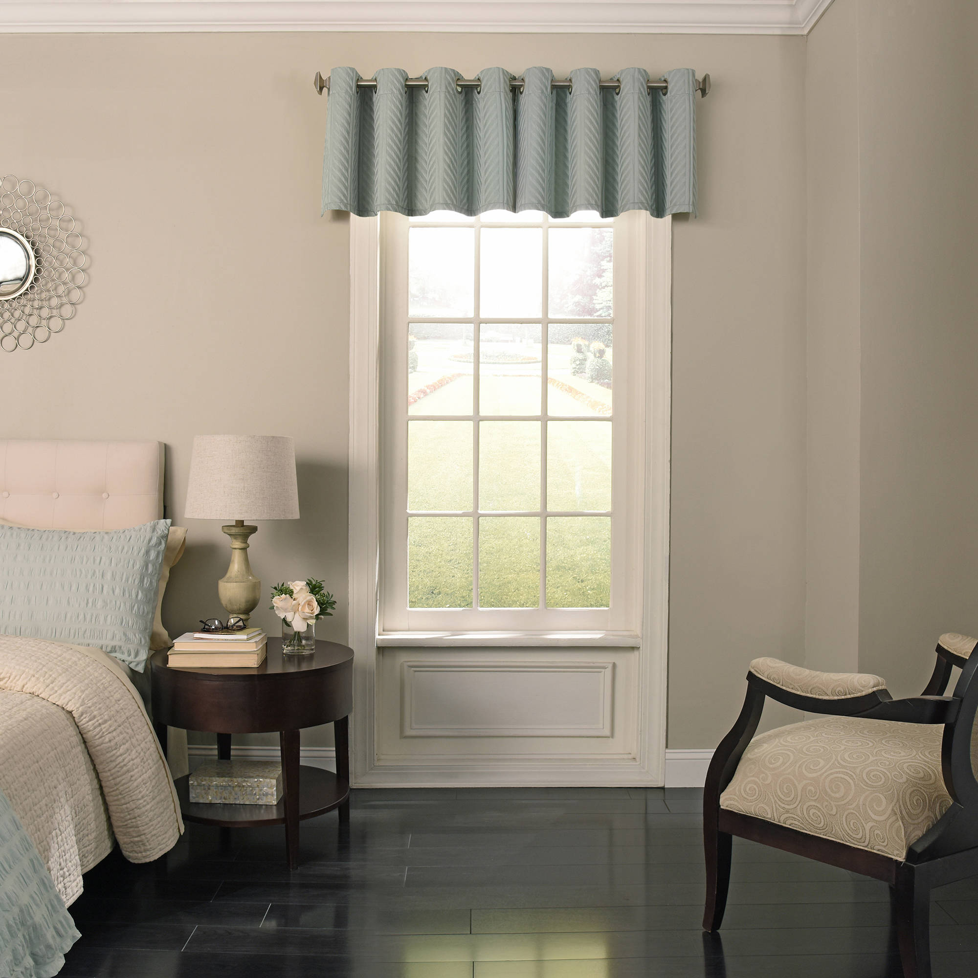 Beautyrest Malbrouk Room Darkening Grommet Window Valance by Ellery Homestyles