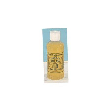 - Old Craftsmen's Lemon Oil with Bees Wax Wood Furniture Polish