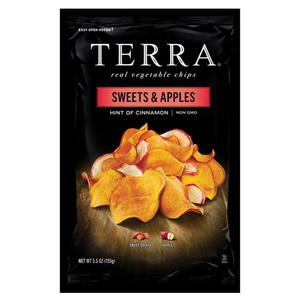 Terra Sweets & Apples Hint of Cinnamon Real Vegetable Chi...