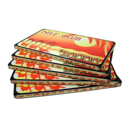 - Bry Belly CPNI-$10000 5 5 $10,000 Nile Club 40 Gram Ceramic Poker Plaques