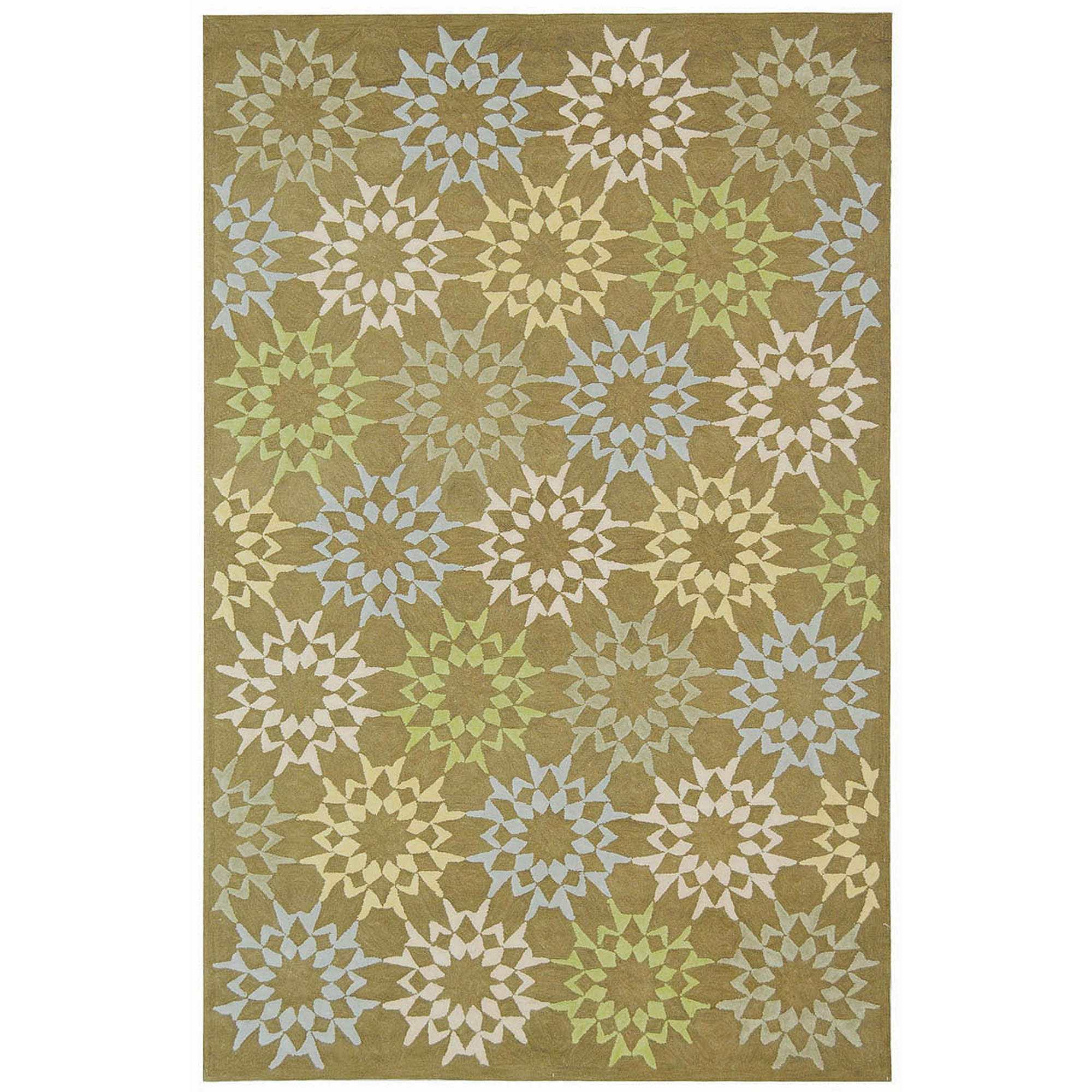 Safavieh Martha Stewart Quilt Pebble Cotton Area Rug