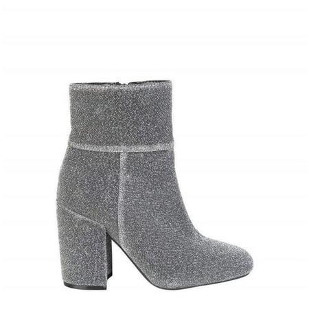 Fontana 2.0 LULU-ARGENTO-Grey-40 Womens Fall & Winter Ankle Boot, Grey - Size (Lulu's Plus Size)