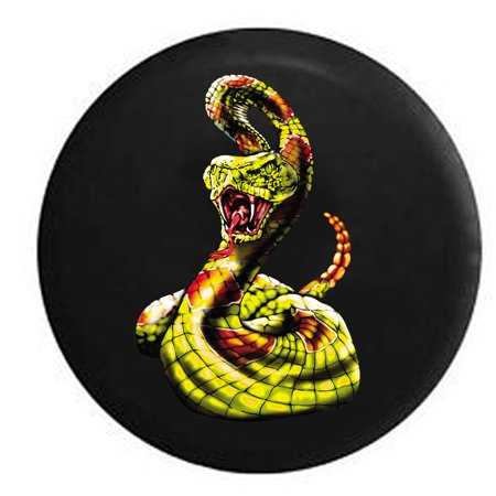 Nfl Spare Tire Cover - Diamond Back Rattle Snake Lime Green Spare Tire Cover for Jeep RV 31 Inch