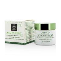 Apivita - Bee Radiant Age Defense Illuminating Face Cream - Rich Texture -50ml/1.76oz