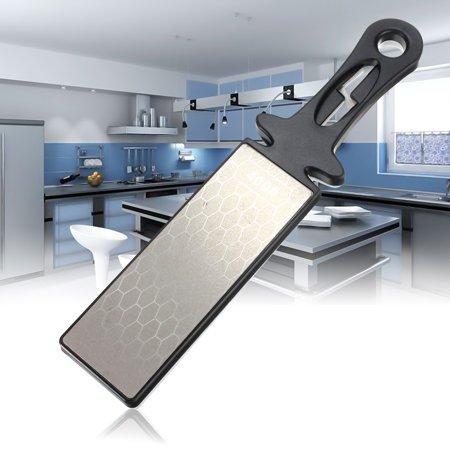 Double Side 400/1000# Professional Kitchen Sharpener Diamond Ceramic Knife Sharpening Wet Stone Whetstone Tool