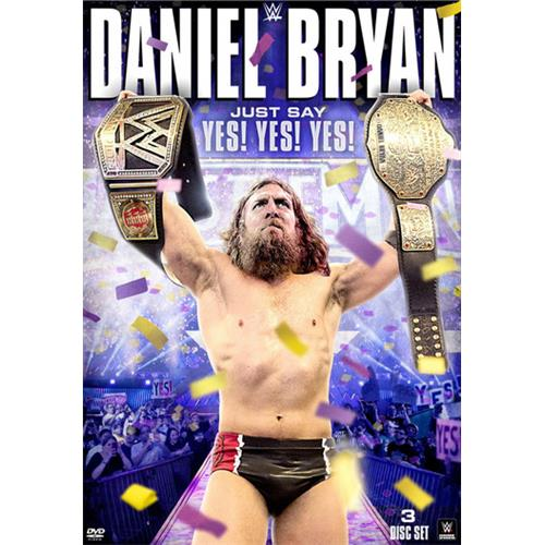 WWE: Daniel Bryan: Just Say Yes! Yes! Yes! (Widescreen) by WARNER HOME VIDEO