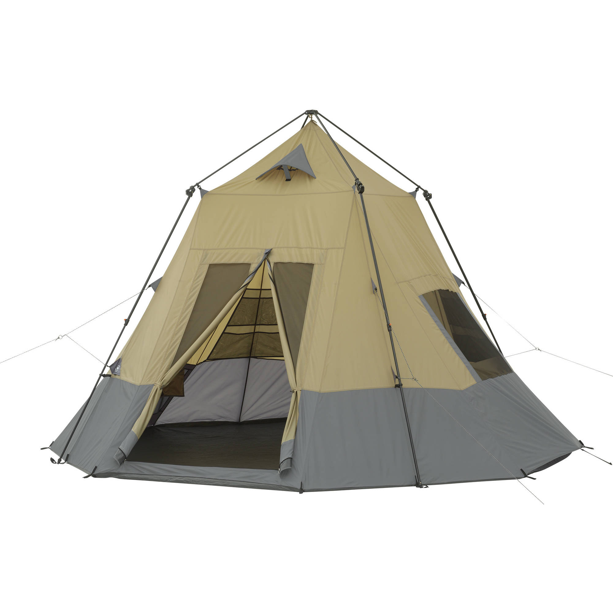 Ozark Trail 12' x 12' Instant Tepee Tent, Sleeps 7 by Bohemian Travel Gear Limited