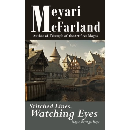 Stitched Lines, Watching Eyes - eBook