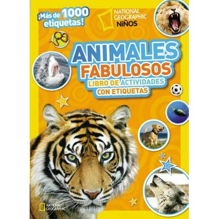 Animales Fabulosos : Libro de Actividades Con - Etiquetas Para Botellas Halloween
