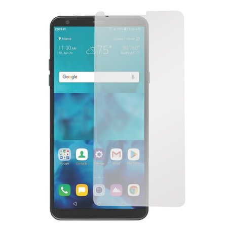 MUNDAZE For LG Stylo 4 Plus Tempered Glass Clear Screen Protector