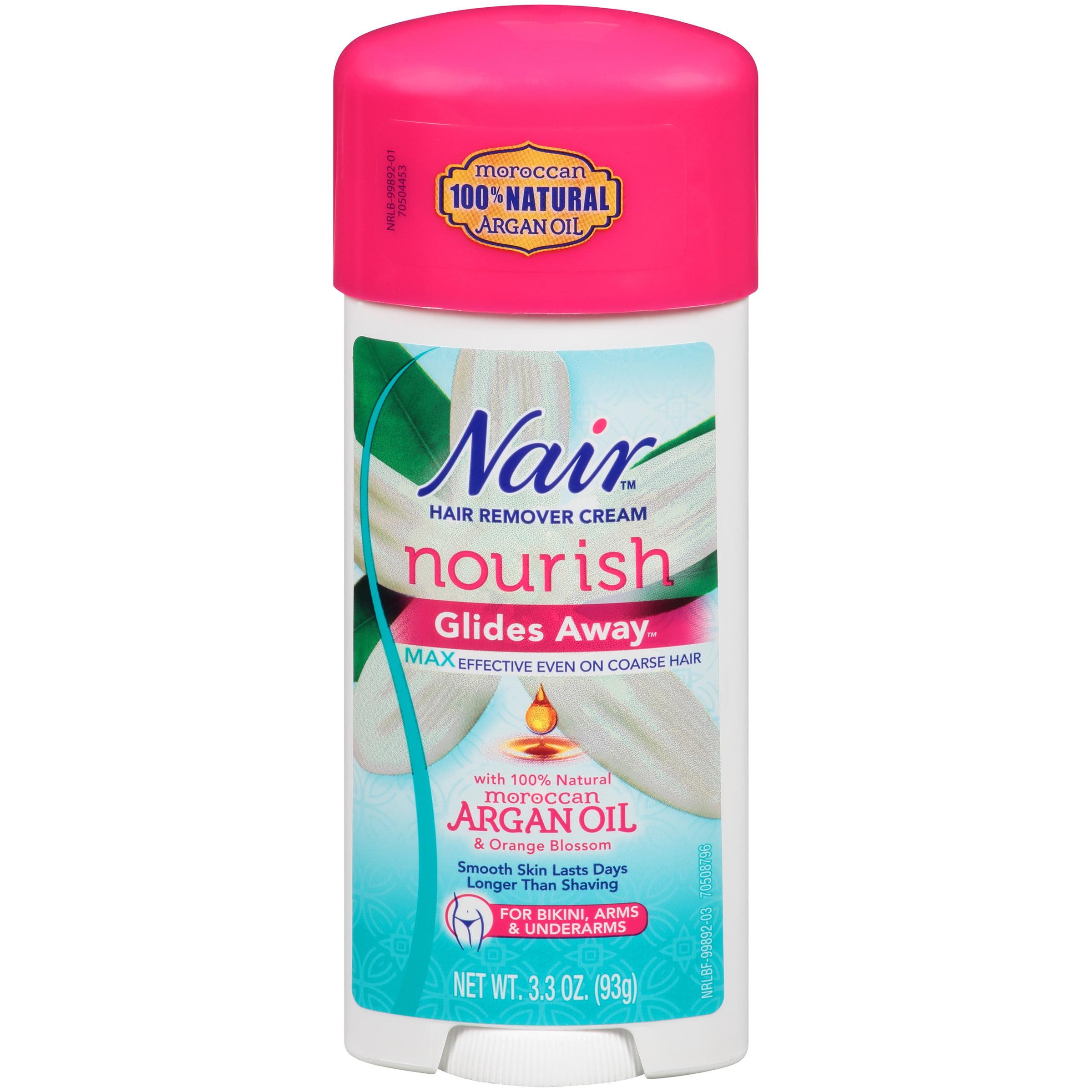 Nair Hair Remover Glides Away Hair Removal Cream 3 3 Oz Walmart