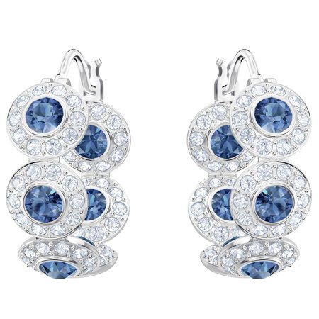 Swarovski Angelic Pierced Hoop Earrings : 5418270 (Fit Pierced Earrings Swarovski)