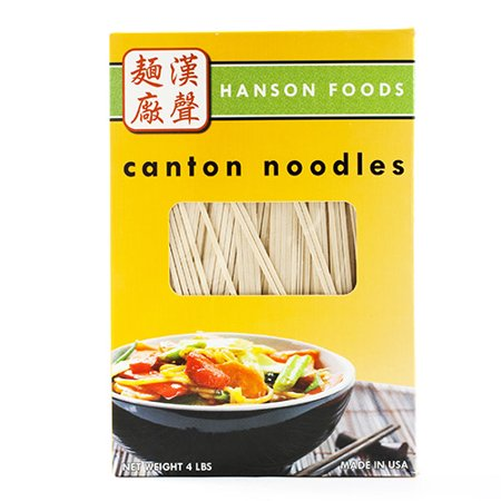 Cantonese-Style Lo Mein Noodles by Hanson Foods (4