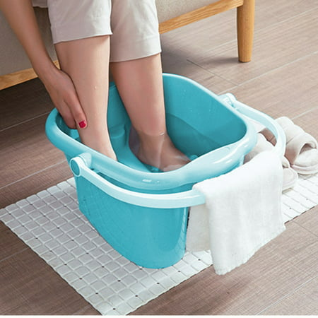 Asewin Foot Detox Massage Spa Bucket ABS Basin Foot Tub Soak Your Feet Toe Nails and