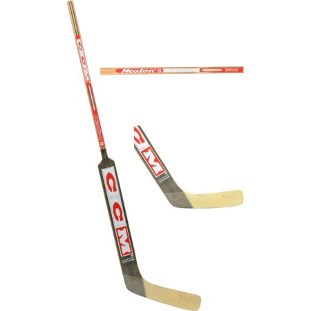 Martin Brodeur New Jersey Devils Player-Issued Beige and Red CCM Goalie Stick - Fanatics Authentic Certified Ccm Goalie Sticks