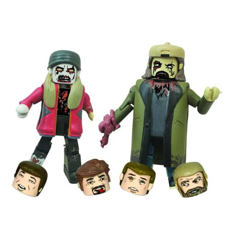 Diamond Select Toys Jay and Silent Bob Zombie Minimates Action Figure (Pack of 2)](Zombie Toys For Boys)
