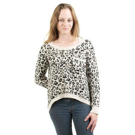 Billabong Cheetah - Billabong - Liv For Luv Cheetah Juniors Sweater