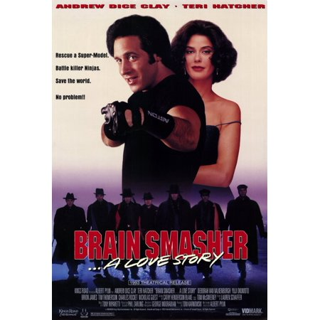Brain Smasher ... A Love Story (1993) 11x17 Movie Poster - Halloween 1993