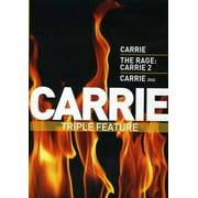 Carrie Triple Feature: Carrie (1976) / The Rage: Carrie 2 / Carrie (2002) (DVD)