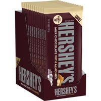 Hershey's, Milk Chocolate with Almonds Giant Bar, 6.8 Oz., (Pack of 12)