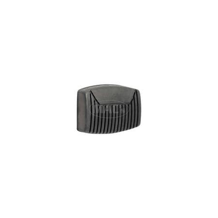Clutch Pedal Pad Clutch (MACs Auto Parts  48-29667 Ford Pickup Truck Brake & Clutch Pedal Pad - Rubber - F100 &)