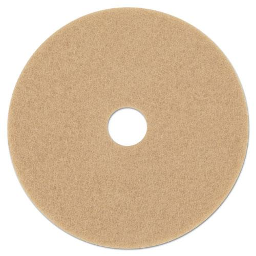3M Ultra High-Speed Floor Burnishing Pads 3400, 21-Inch, Tan MCO 05607