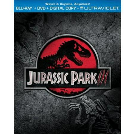 Jurassic Park III (Blu-ray + DVD + Digital Copy With UltraViolet)