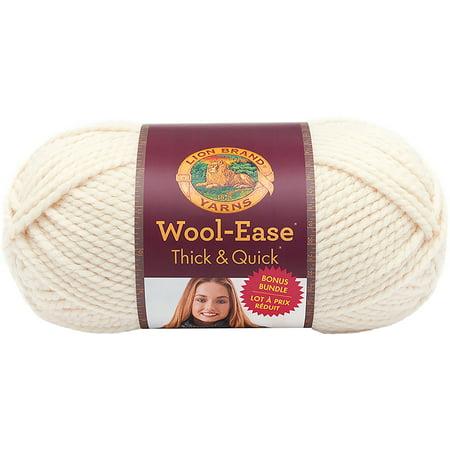 Lion Brand Wool-Ease Thick & Quick Bonus Bundle