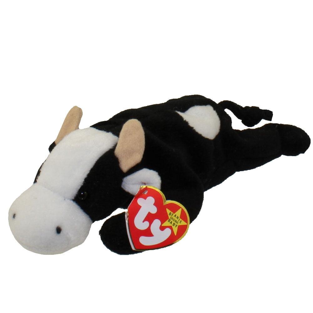 TY Beanie Baby - DAISY the Cow (9 inch)