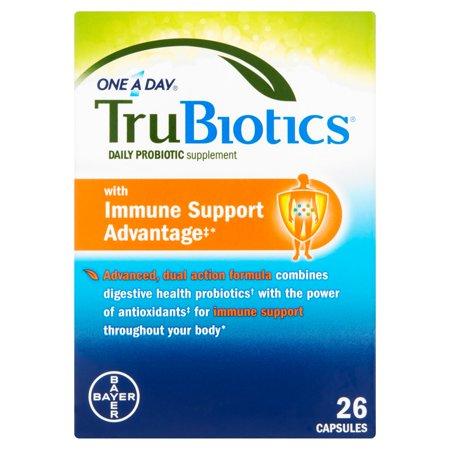 One A Day ® TruBiotics® Daily Supplément probiotique Capsules 26 ct Boîte