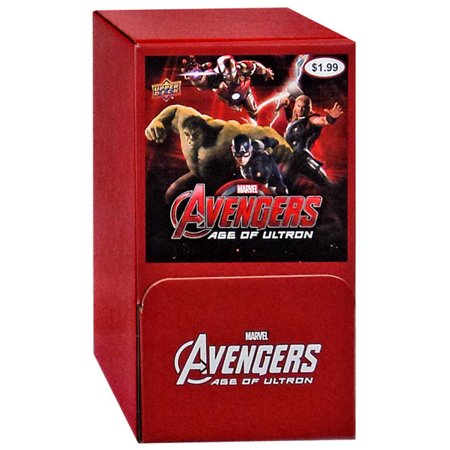 Marvel Avengers Age of Ultron Trading Card Gravity Feed Box](Avengers Cards)